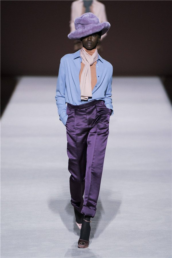 Tom Ford 2019秋冬纽约时装秀